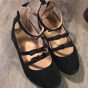 Old navy Toddler girl flats size 10